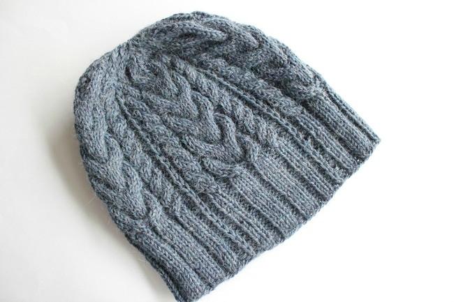 808dda01eab Un joli test pour le bonnet Galway de l Echappée Laine