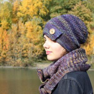 Modèles tricot de bonnets et cols