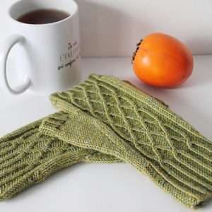 Modele de tricot de mitaines Ildoa de Lilofil