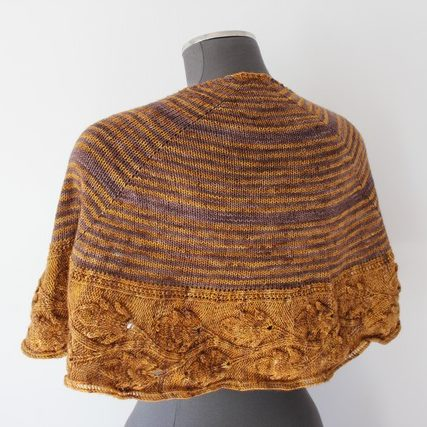 Shawl knitting pattern - TAMMEA by Lilofil