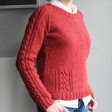 Modèle tricot de pull - ASKIA de Lilofil