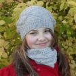 Hat and cowl knitting pattern - OXALIS by Lilofil