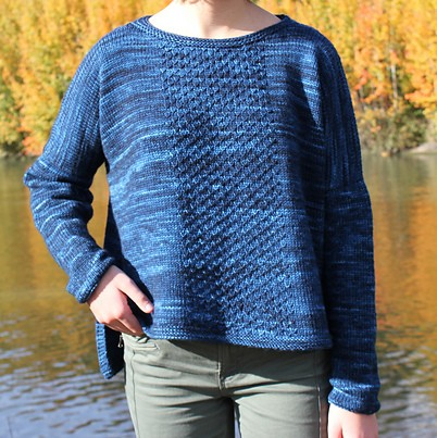 Sweater knitting pattern - SAMARE by Lilofil