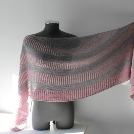 Shawl knitting pattern - REYA by Lilofil