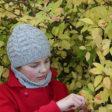 Modele de tricot de bonnet et col Kallio de Lilofil