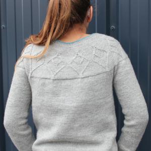 Modele de tricot de pull Ezia de Lilofil