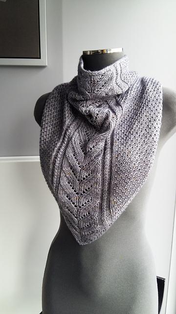Modele de tricot de col Skoli de Lilofil