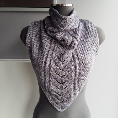 Bandana cowl knitting pattern - SKOLI by Lilofil