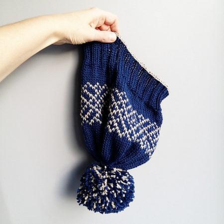 Modele tricot de bonnet smalt de lilofil