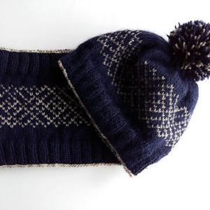 Modele de tricot de bonnet smalt de lilofil