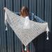 Modele de tricot de chale Soolight de Lilofil