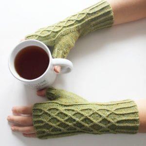 Modèle tricot de mitaine Ildoa de Lilofil