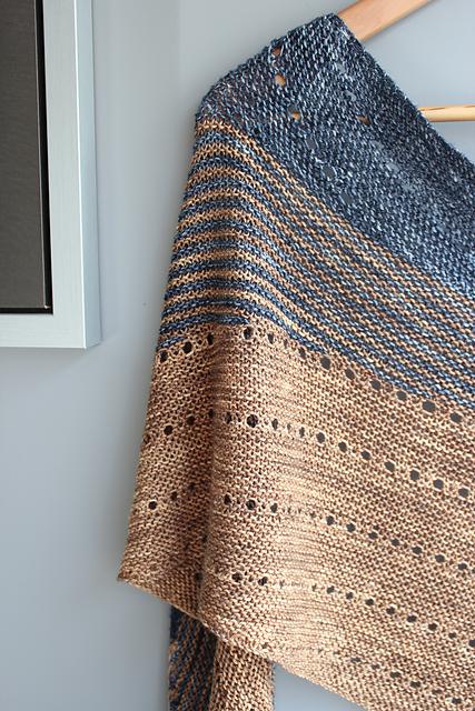 Modele de tricot de chale kelias de lilofil
