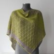 Shawl knitting pattern - LUGAS by Lilofil