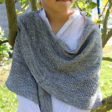 Shawl knitting pattern - SYRMA by Lilofil