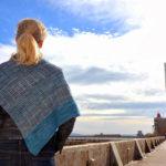Modele de tricot de chale Avant l'orage de lilofil