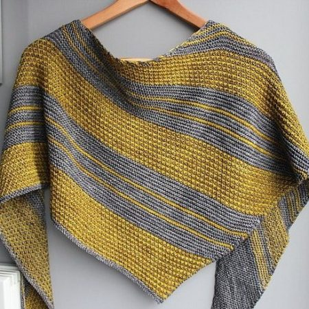 Knitting pattern Bryum designed bylilofil