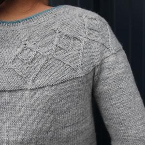 modele tricot ezia de lilofil