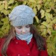 Modele de tricot de bonnet et col oxalis de lilofil
