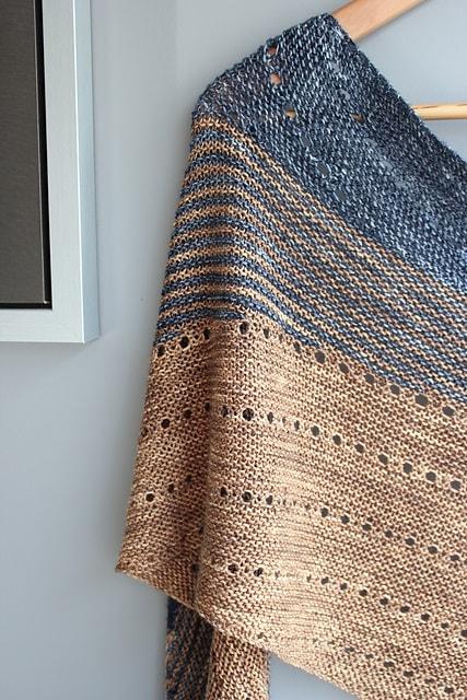 modele tricot chale kelias