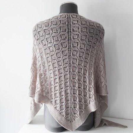 Lesi shawl de lilofil