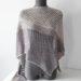 Modele de tricot de chale Spring's Kelias de Lilofil