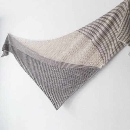 Shawl knitting pattern - SPRINGS KELIAS by Lilofil