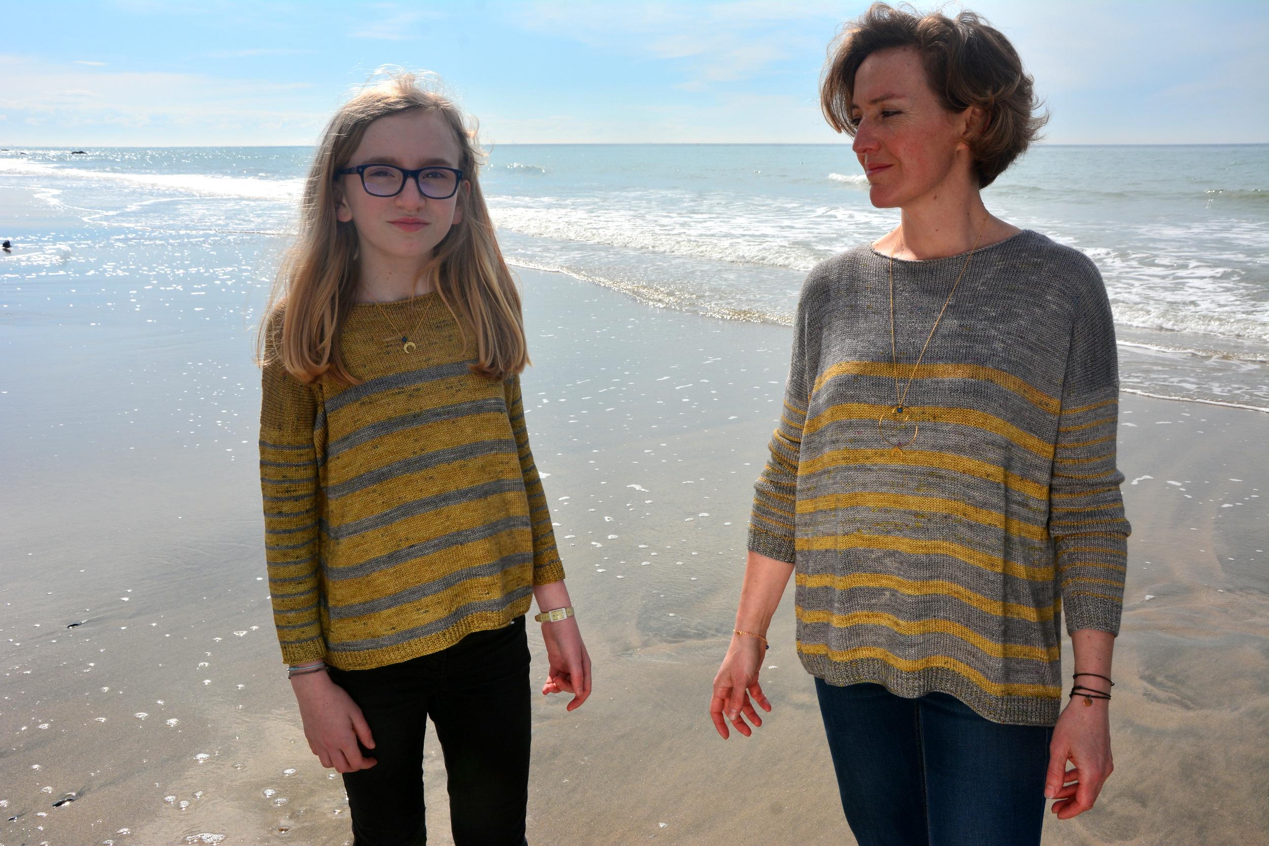 Modèle de pull à tricoter Otway de Lilofil