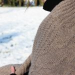 modele tricot de chale Mokka de Lilofil