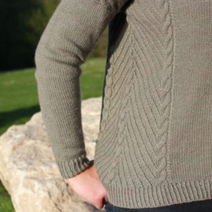 modele tricot pull daintree