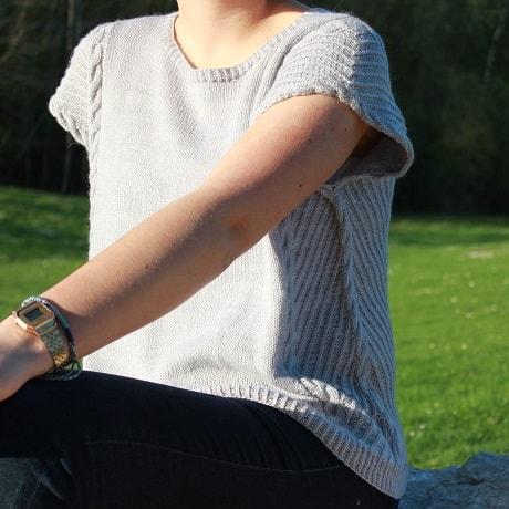 Modele tricot Daintree de Lilofil
