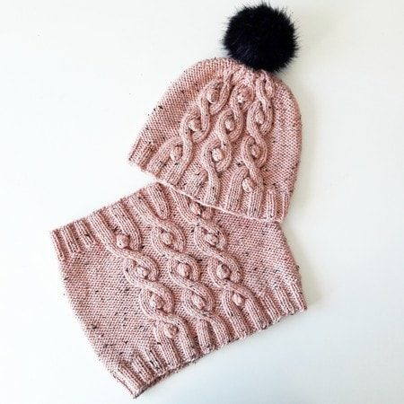Hat knitting pattern Lopta