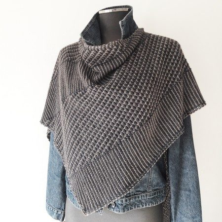 Modele tricot chale Sekoi Lilofil