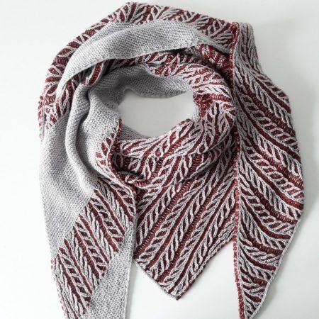 modele tricot chale Canut - Lilofil_1-min