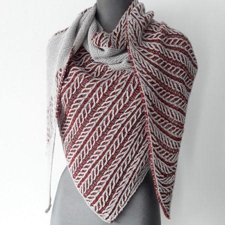 modele tricot chale Canut - Lilofil_2-min