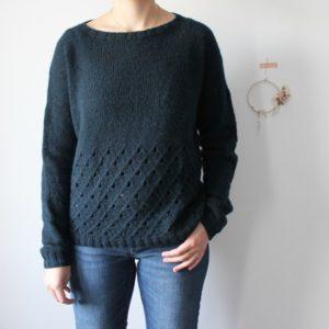 Modèle tricot de pull