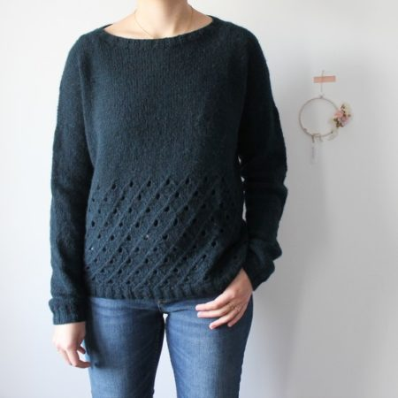 Sweater knitting pattern Huiten
