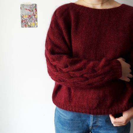 Modele tricot pull Oreti