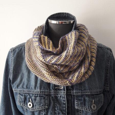 Modèle de tricot col Brandberg