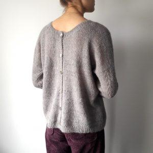 Modèle de tricot gilet Lusen
