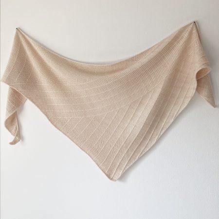 Modèle de tricot châle Linya 1