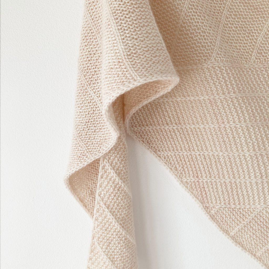 Modèle de tricot châle Linya 2