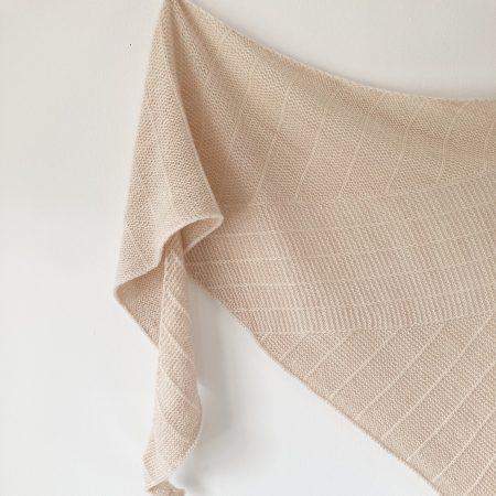 Modèle de tricot châle Linya 3