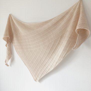 Modèle de tricot châle Linya 5